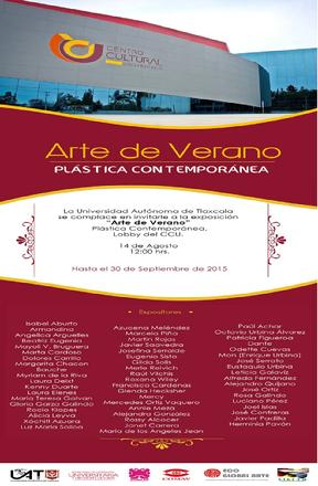 Arte Contemporáneo_Universidad de Tlaxcala_2015
